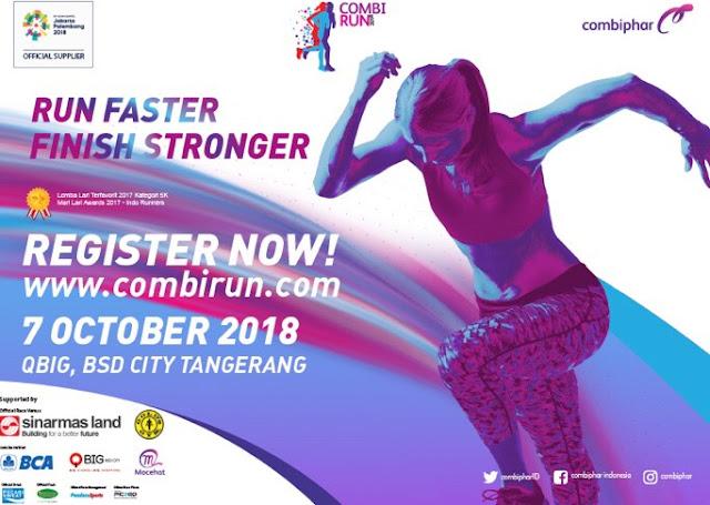 combu run 2018 ciptakan generasi indonesia yang lebih sehat