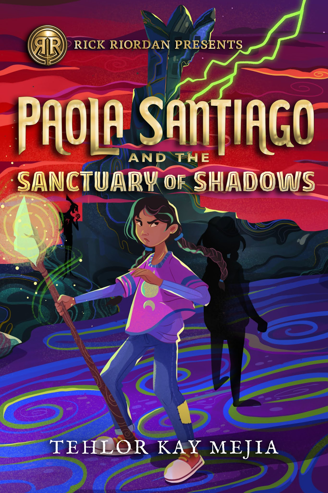 Paola Santiago and the Sanctuary of Shadows by Tehlor Kay Mejia