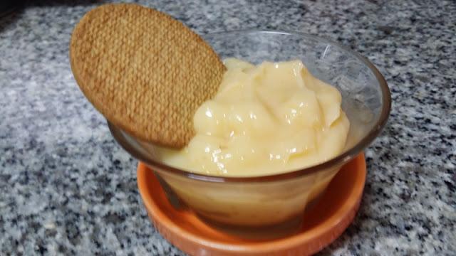 Una crema de limon