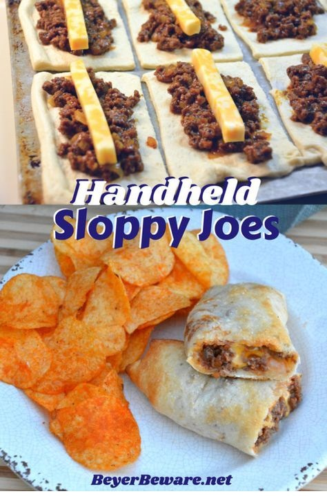 Sloppy Joe Sticks - Handheld Sloppy Joes