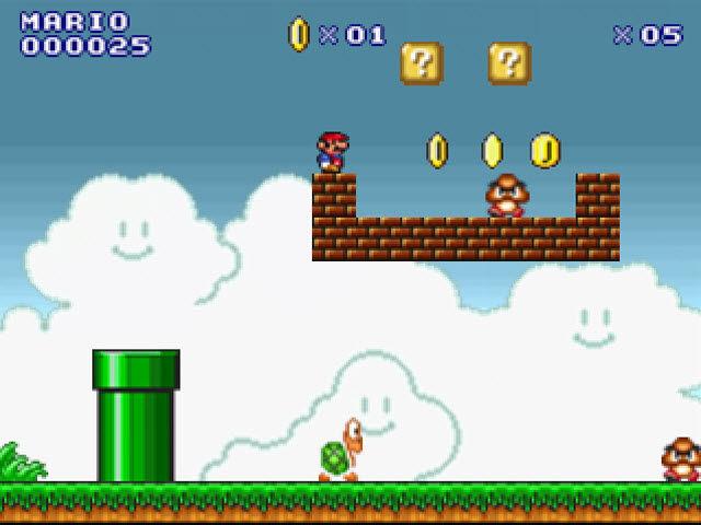 Super flash mario bros jeu de plate forme sur pc mister gratos l 39 univers du gratuit - Mario gratuit ...