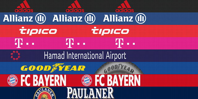 PES 2013 Tottenham, Bayern adboards for GDB by m4rcelo