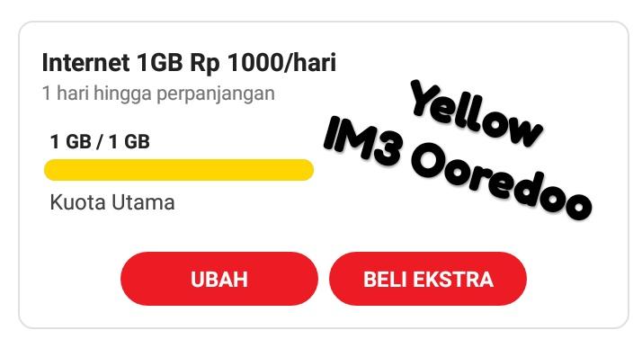 Cara Mengatasi Invalid Menu Pada Saat Aktifasi Paket IM3 Yellow Rp1.500/Day