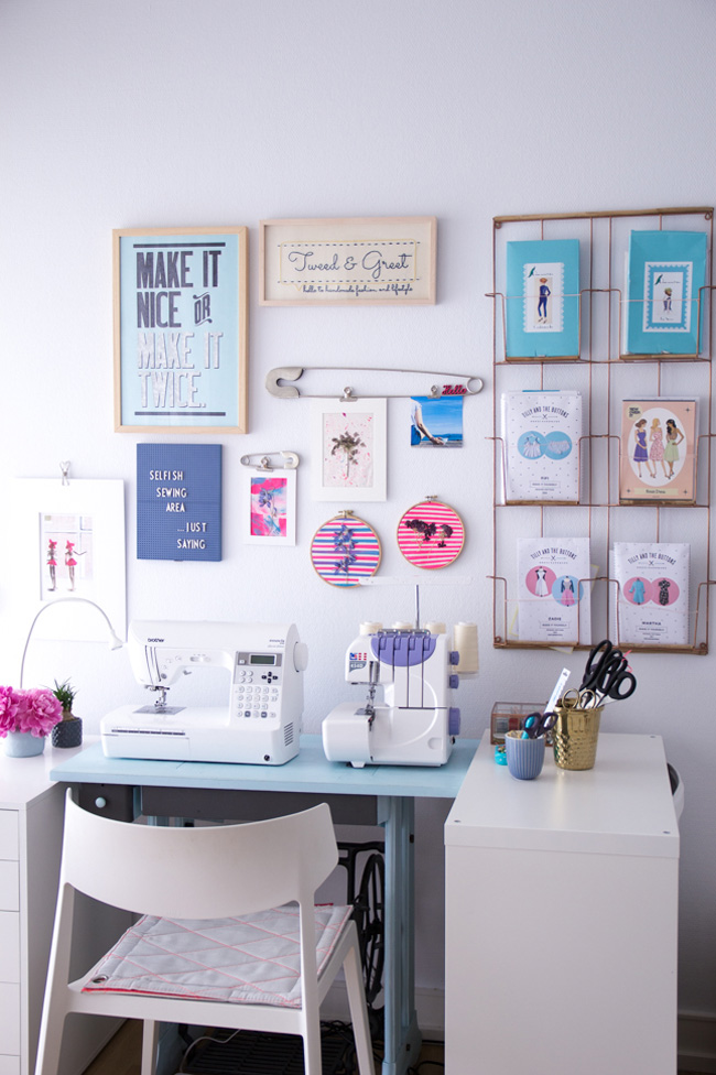 Sewing Space Tours - Tilly and the Buttons