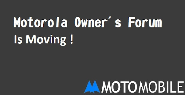 Motorola Forum is Moving : Get a Lenovo Id to use the new Community