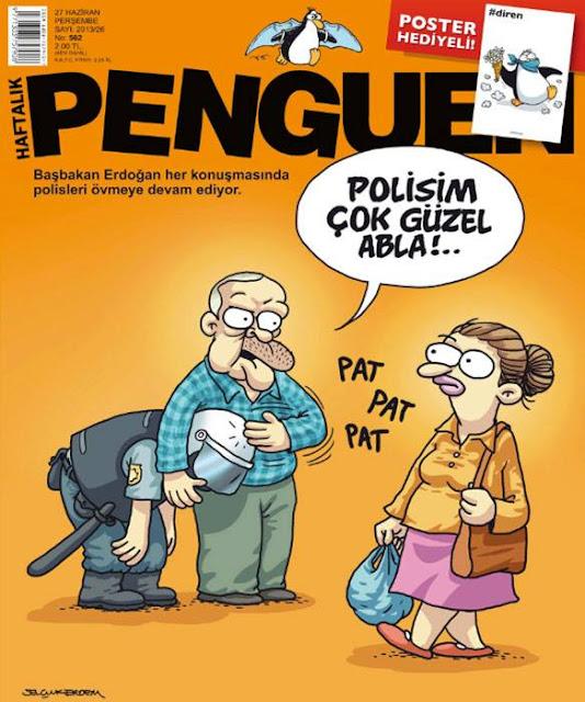 Penguen Dergisi | 27 Haziran 2013 Kapak Karikatürü