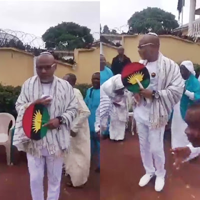 Actualisation of Biafra Will Be Achieved in the 'Next Few Months' - Nnamdi Kanu Defies Bail Conditions