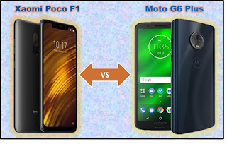 Moto G6 Plus vs Xiaomi Poco F1