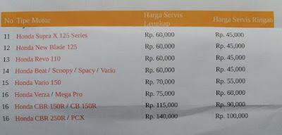 biaya servis motor injeksi