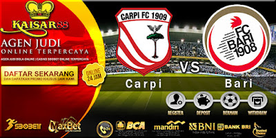 Prediksi Tebak Skor Jitu Liga Italy seri B Carpi vs Bari 29 Desember 2017