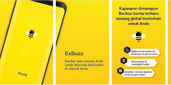 LAGI DAN LAGI !!! Aplikasi Penghasil Dollar dan Bitcoin Exbuzz