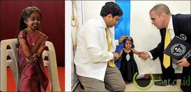 Jyoti Amge (Gadis Terkecil di Dunia)