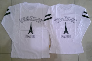 Jual Online LP Paris Essence Couple Murah Jakarta Bahan Combed Terbaru
