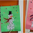 Construction Paper Crafts: Shredded Paper Snowmen