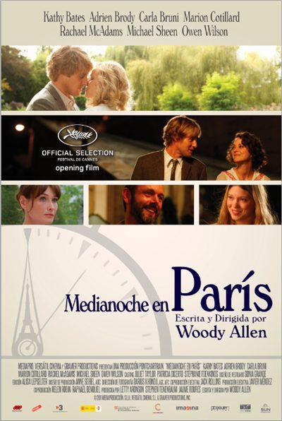 Medianoche en Paris [Midnight in Paris] 2011 BRRip [720p HD] Español Latino Descargar