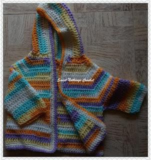a free crochet baby jacket pattern