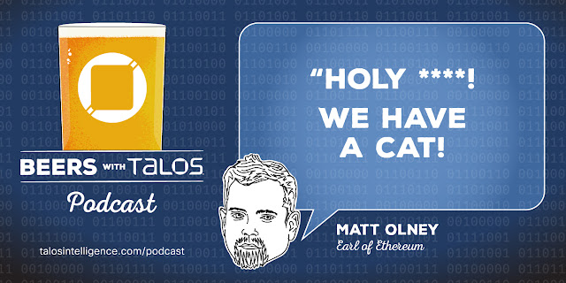 """Matt Olney, Earl of Ethereum - """"Holy ****! We have a cat"""""""