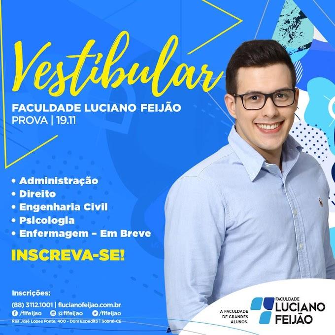 Faculdade Luciano Feijão abre inscrições para Vestibular