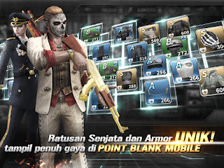 Cheat And Hack Point Blank Garena v1.2.0 Indonesia for Android Mobile