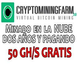 Crypto Mining Farm, Inicia con 50 GHS Gratis