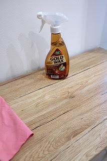 płyn do czyszczenia drewna