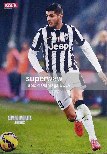 Alvaro Morata Juventus 2014