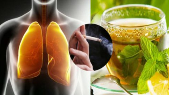 Natural Drink Will Clean Your Lungs Quickly