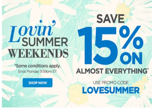 The Shopping Channel 15% Off Lovin Summer Weekends Promo Code