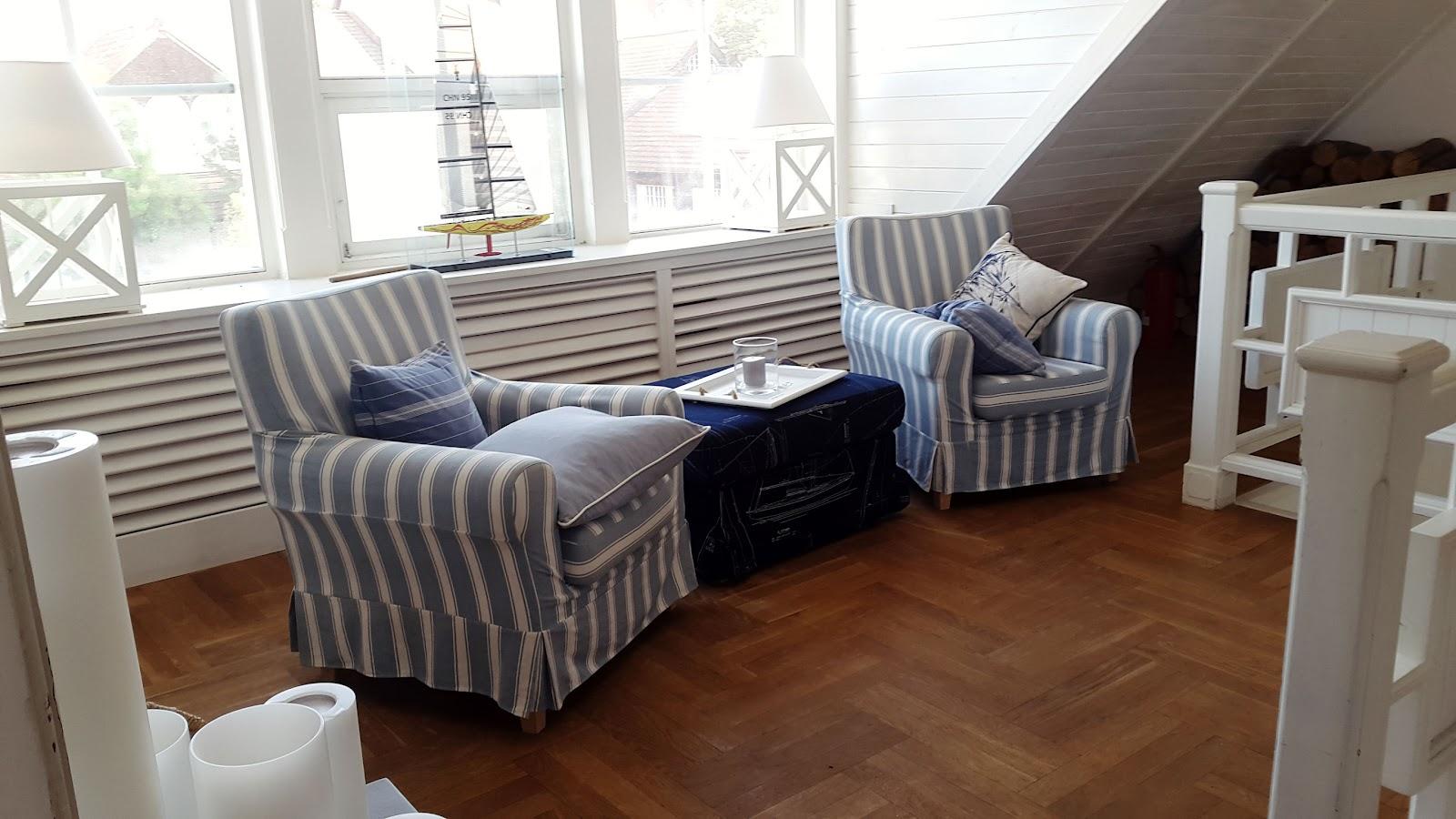 Restauracja White Marlin w Sopocie,Strohhut, Summer, Sommer, Polska, Polen, maritim style, interior, hafen