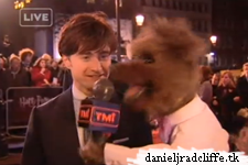 TMI's hacker at the Harry Potter and the Deathly Hallows part 1 premiere, London