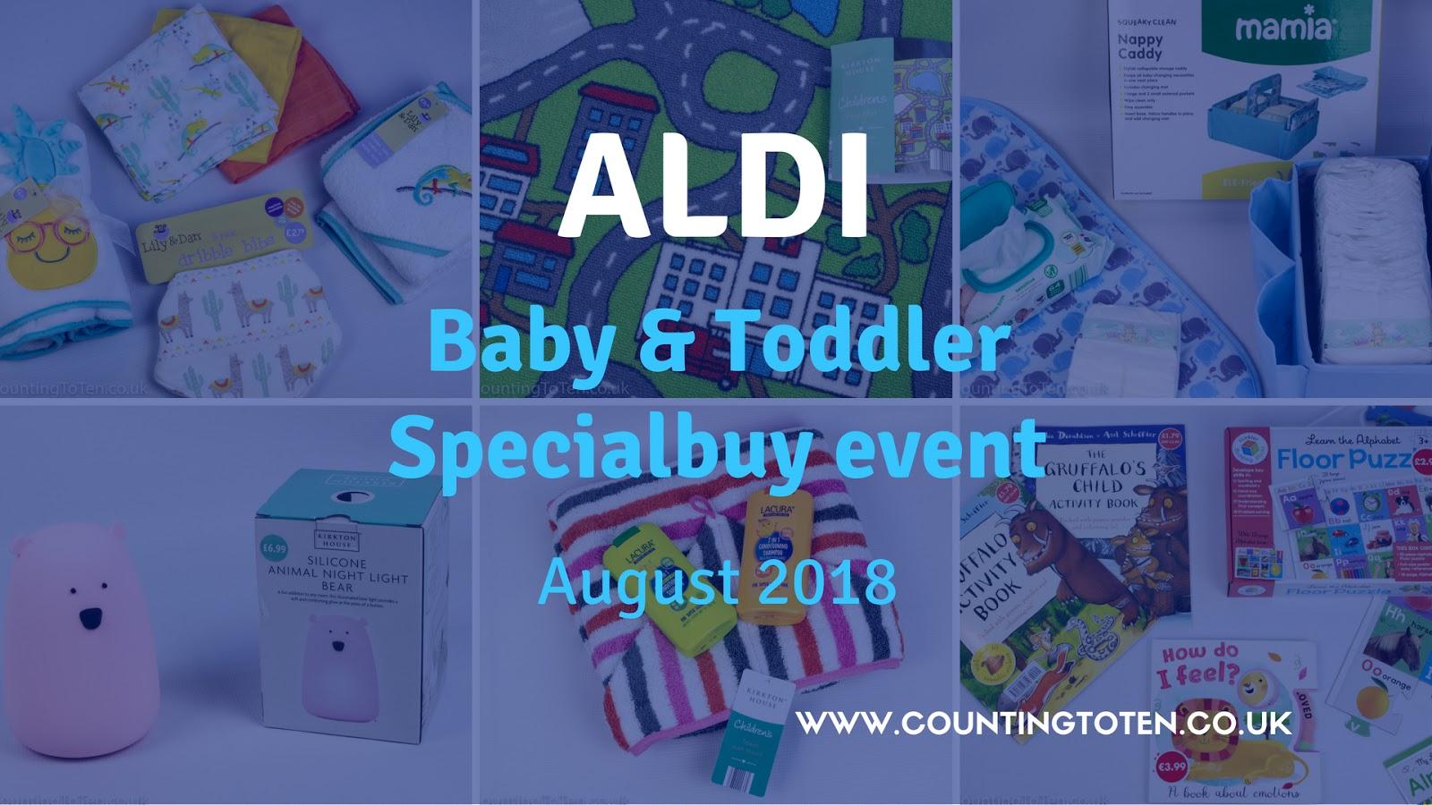 the aldi baby toddler specialbuy event august 2018. Black Bedroom Furniture Sets. Home Design Ideas