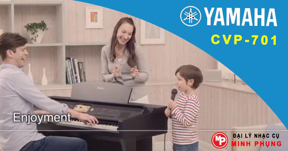Đàn Piano Yamaha Clavinova CVP-701B - Piano giá rẻ nhập khẩu