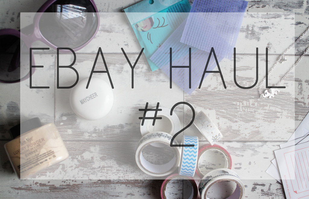 Ebay Haul #2 | Stickers, Washi Tape, Beauty & More