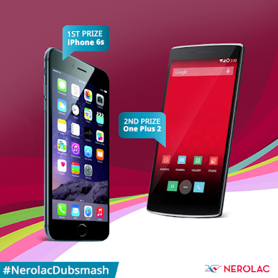 Nerolac Dubsmash contest Chance To Win iPhone 6S,OnePlusTwo Smartphone And More