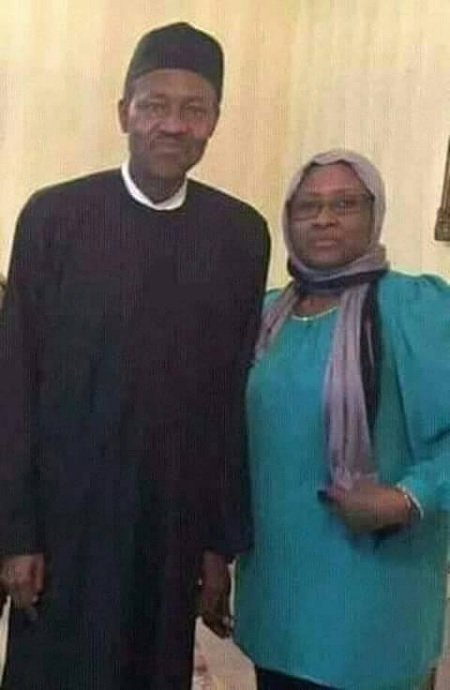 AISHA AND BUHARI