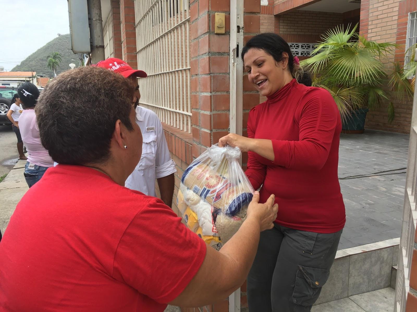 Alimca llegó con alimentos a más de 2.500 hogares de Puerto Cabello ...