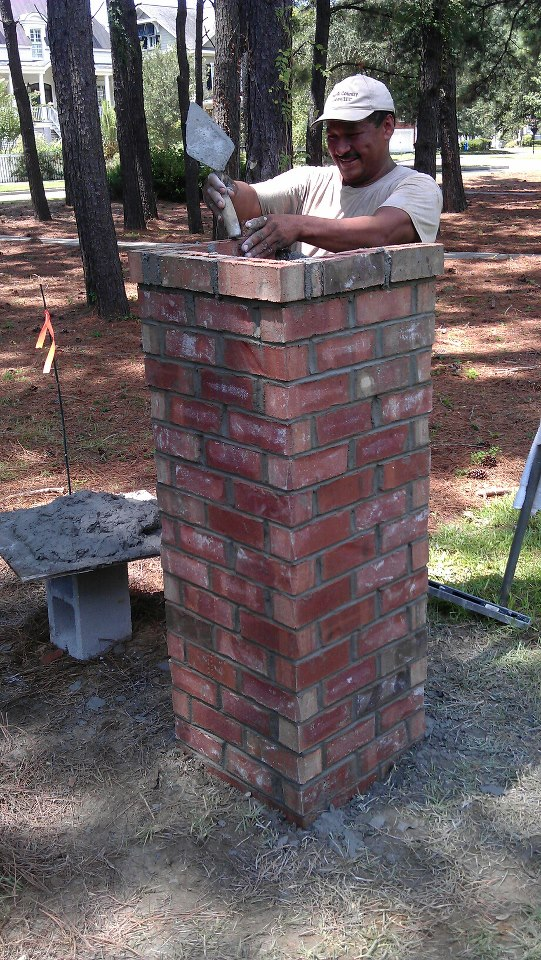 Building The Columns 3 Jpg