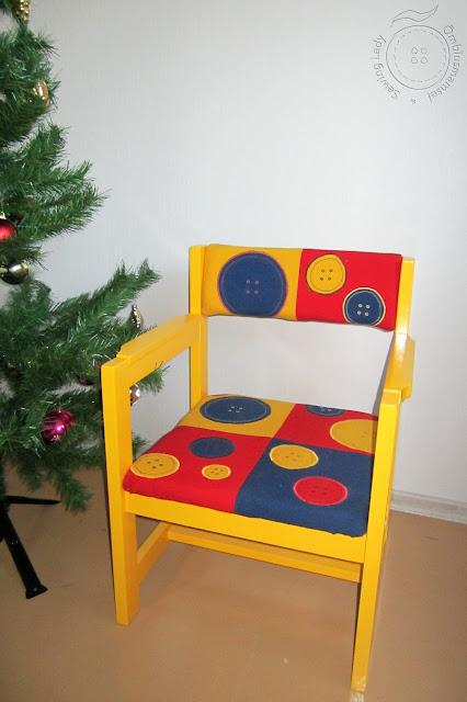 Kollane restaureeritud tool