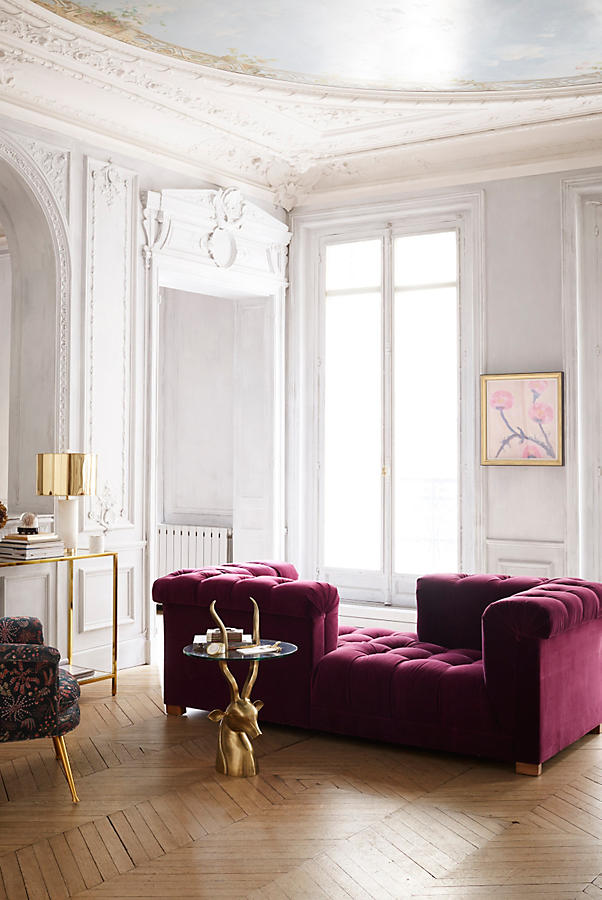 Furniture Design Gorgeous Fuchsia Sofa