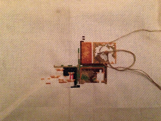 Cross-Stitch, yet another hobby.