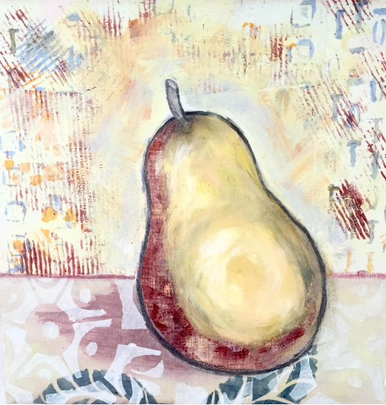 collage pear ignon