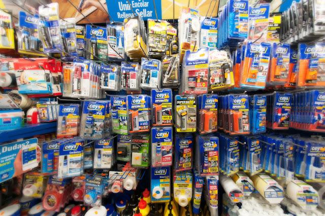 Adhesivos y productos químicos zaragoza