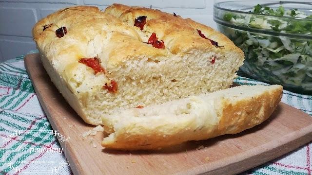 итальянский хлеб фокачча рецепт с фото
