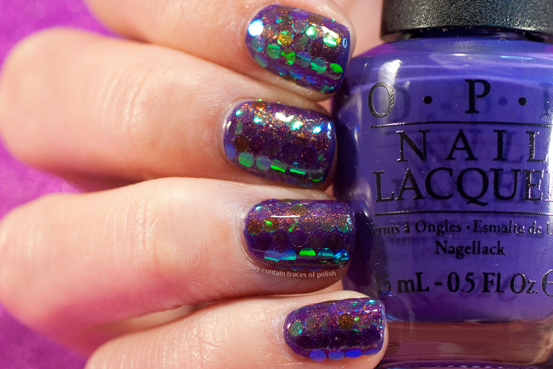 31 Day Challenge: Day 17, Glitter Nails with Max Factor Fantasy Fire