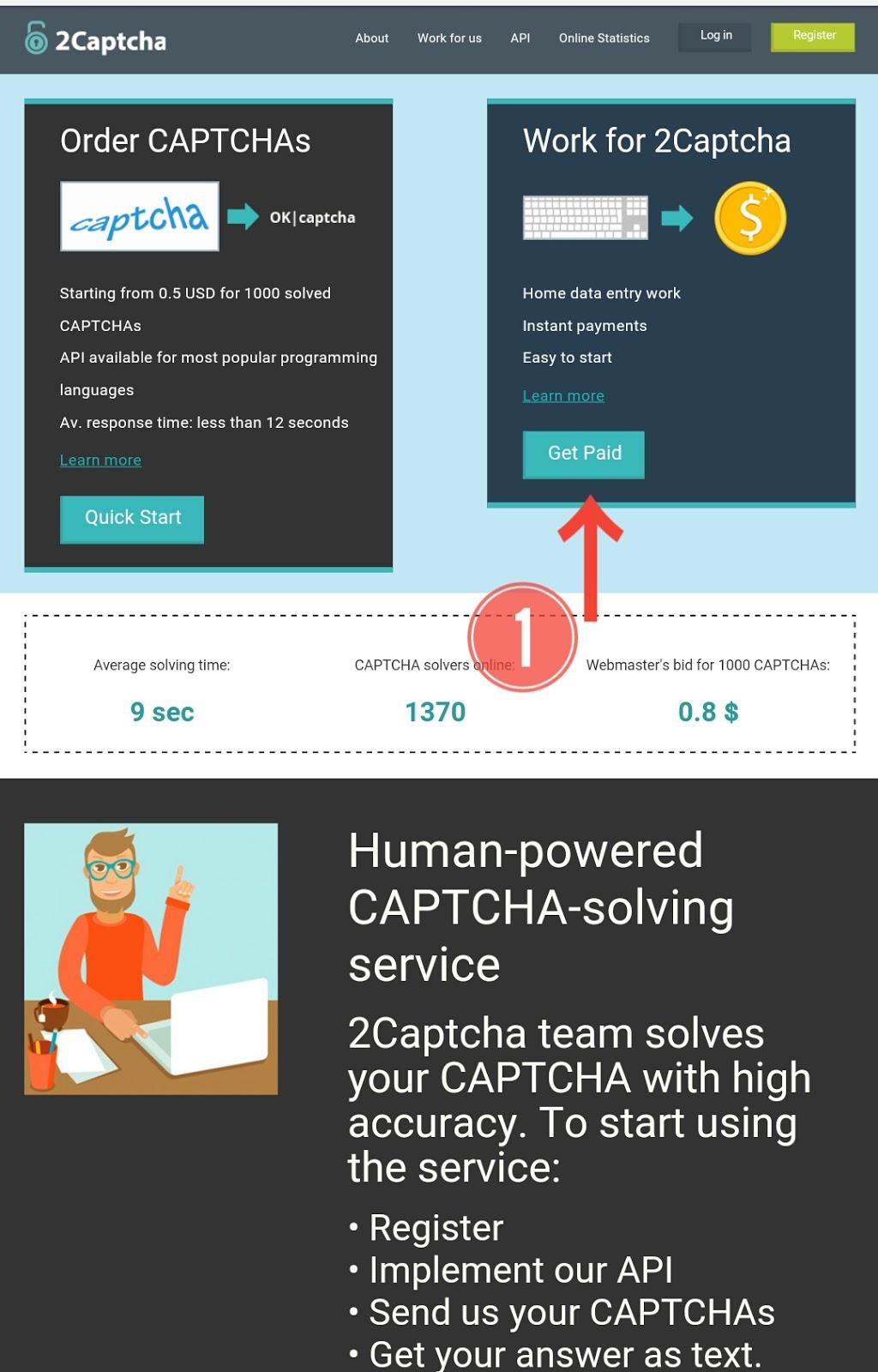 solve captcha keress bitcoin