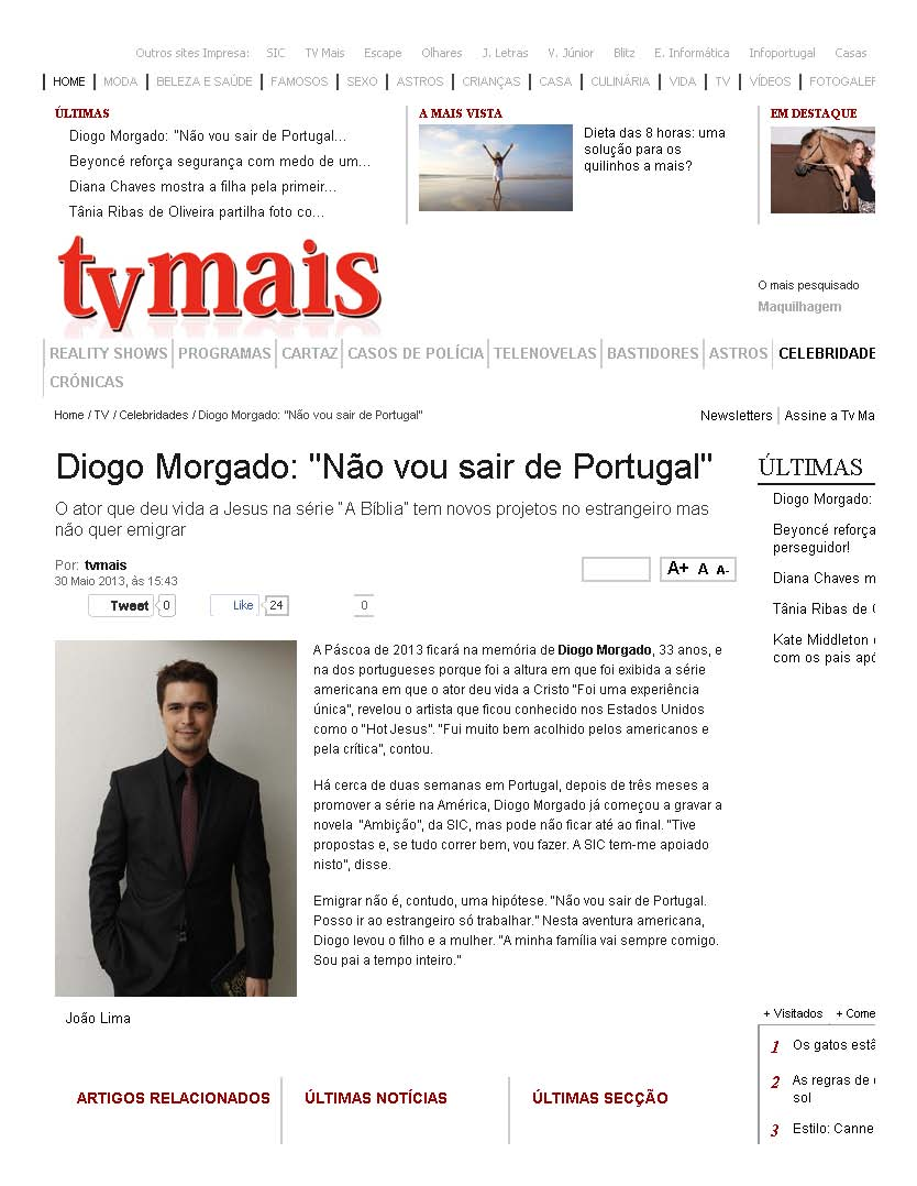 Ana Alice Nicolau Playboy all about diogo morgado: may 2013
