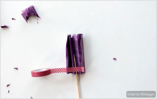 Making Flowers Of Thin Papers With Instructional Pictures And Steps 2