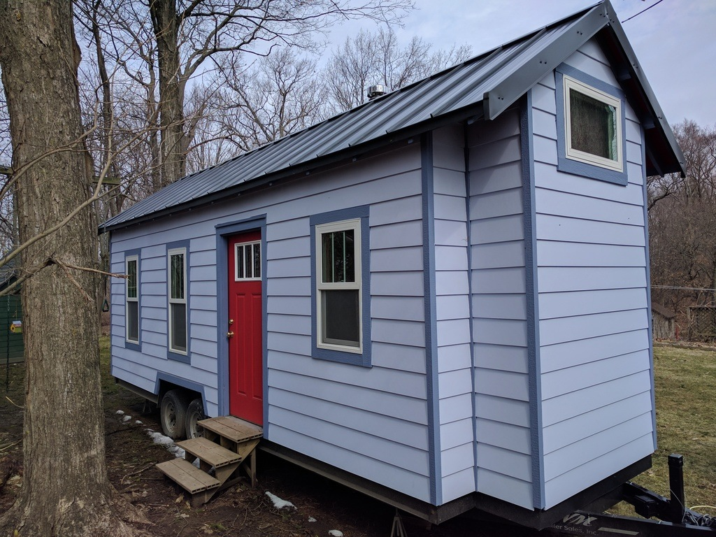Tiny house town working class tiny house 180 sq ft for Tiny house search
