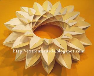 sliceform torus daisy