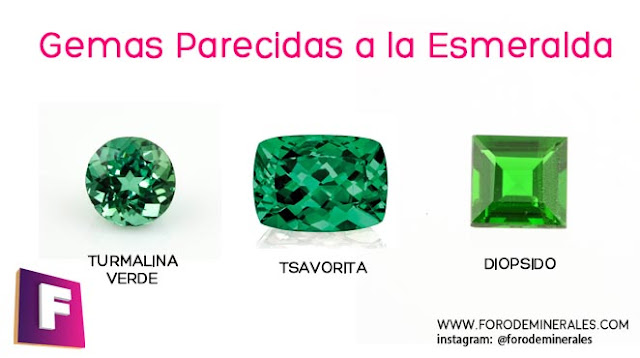 gemas parecidas a la esmeralda | foro de minerales